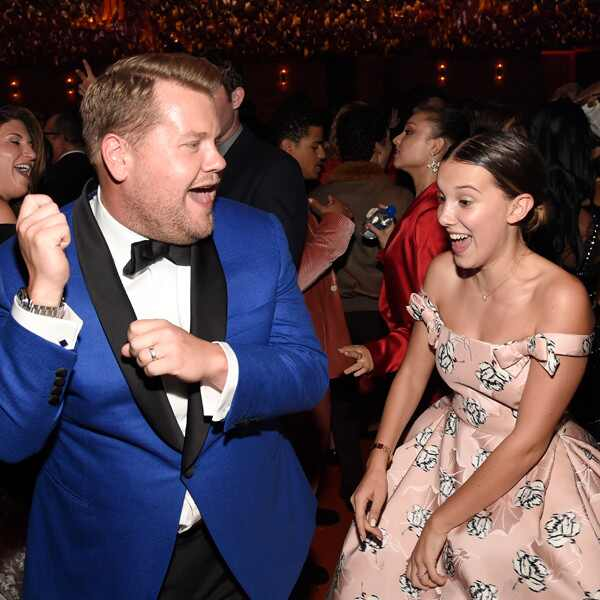 James Corden, Millie Bobby Brown, 2018 Emmy After Party Pics